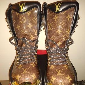 Louis Vuitton Outland Monogram Boots